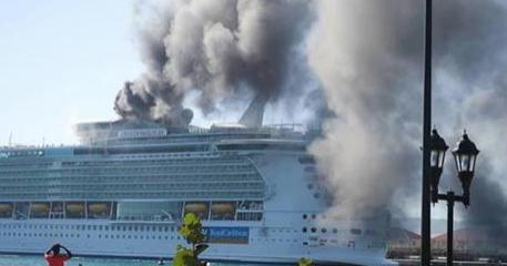 Grave incidente sulla nave da crociera pi grande del for Ponte delle cabine di rapsodia dei mari 2